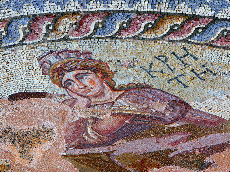 Mosaike in Paphos( © Xenophon CC BY-SA 3.0 (http://bto.de/CCBYSA3))